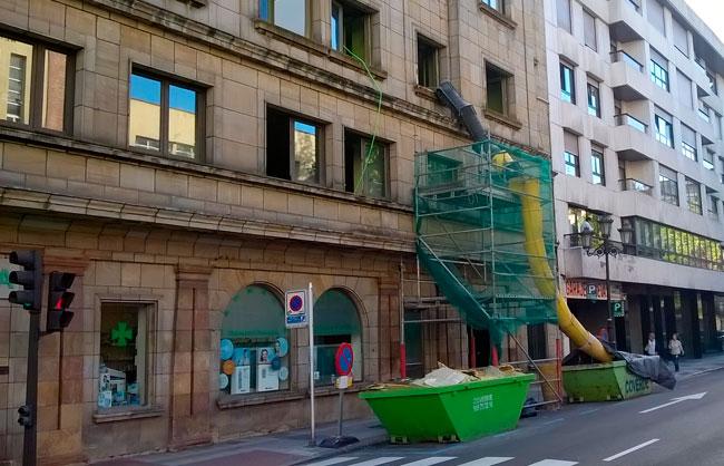 Oficinas construccin de oficinas centros de trabajo for Oficina de correos oviedo